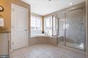 Master Bathroom - 16350 BOATSWAIN CIR, WOODBRIDGE