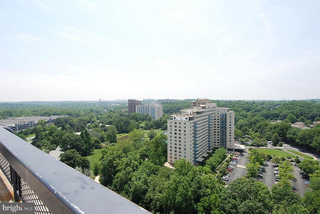 VIEWS FROM THE PARTY ROOM - 10500 ROCKVILLE PIKE #1619, ROCKVILLE