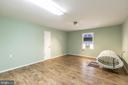 Fully finished room over detached garage - 1799 COURTHOUSE RD, STAFFORD