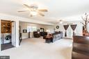 Beautiful spacious family room with fire place - 1799 COURTHOUSE RD, STAFFORD