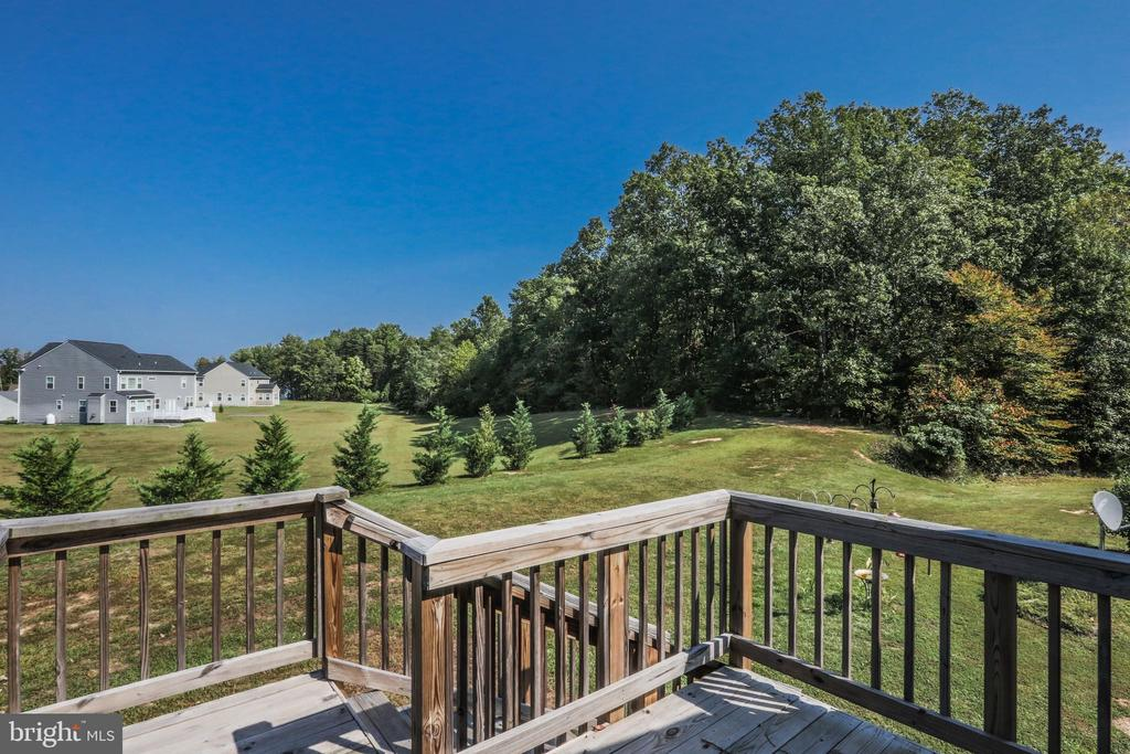 Deck over detached garage - 1799 COURTHOUSE RD, STAFFORD