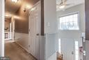 Two story foyer with tons of natural light - 1799 COURTHOUSE RD, STAFFORD