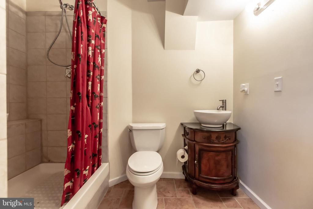 Lower level full bath - 1799 COURTHOUSE RD, STAFFORD
