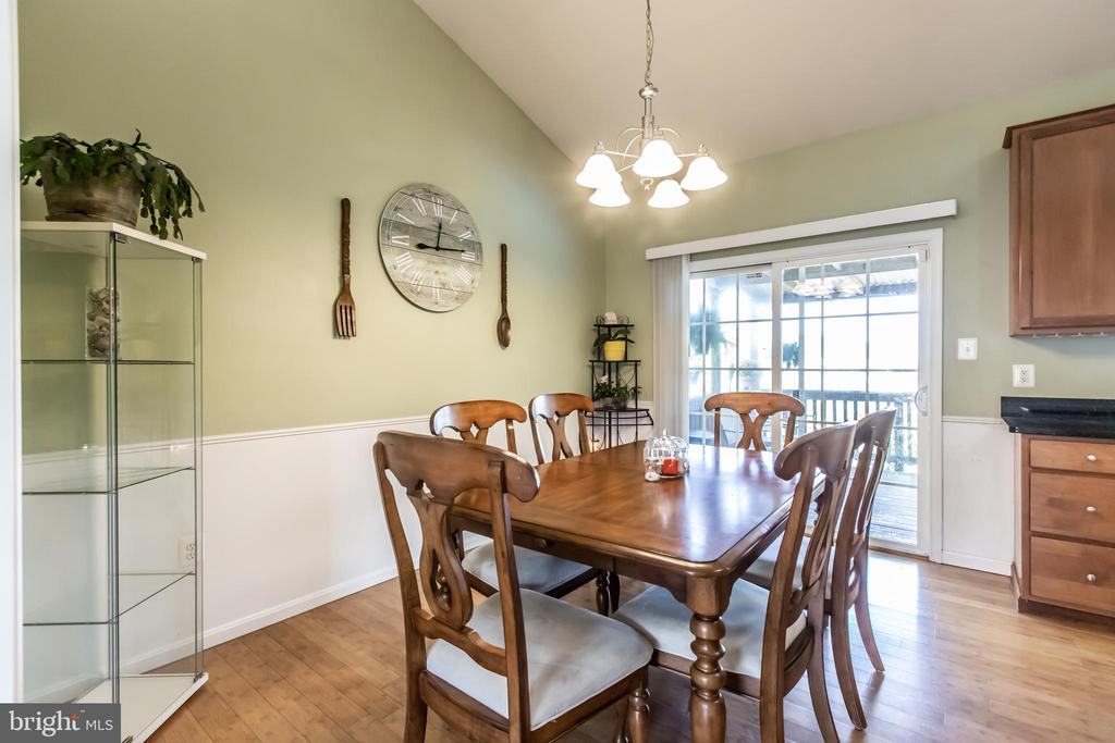 Hardwood floors in  nicely sized kitchen - 1799 COURTHOUSE RD, STAFFORD