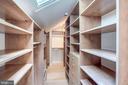 Master Walk-In Closet - 3150 PROSPERITY AVE, FAIRFAX