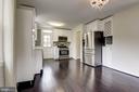 Dining Room & Kitchen - 2810 NEWTON ST NE, WASHINGTON