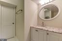 Basement Bathroom - 2810 NEWTON ST NE, WASHINGTON