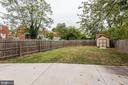 Rear Yard - 2810 NEWTON ST NE, WASHINGTON