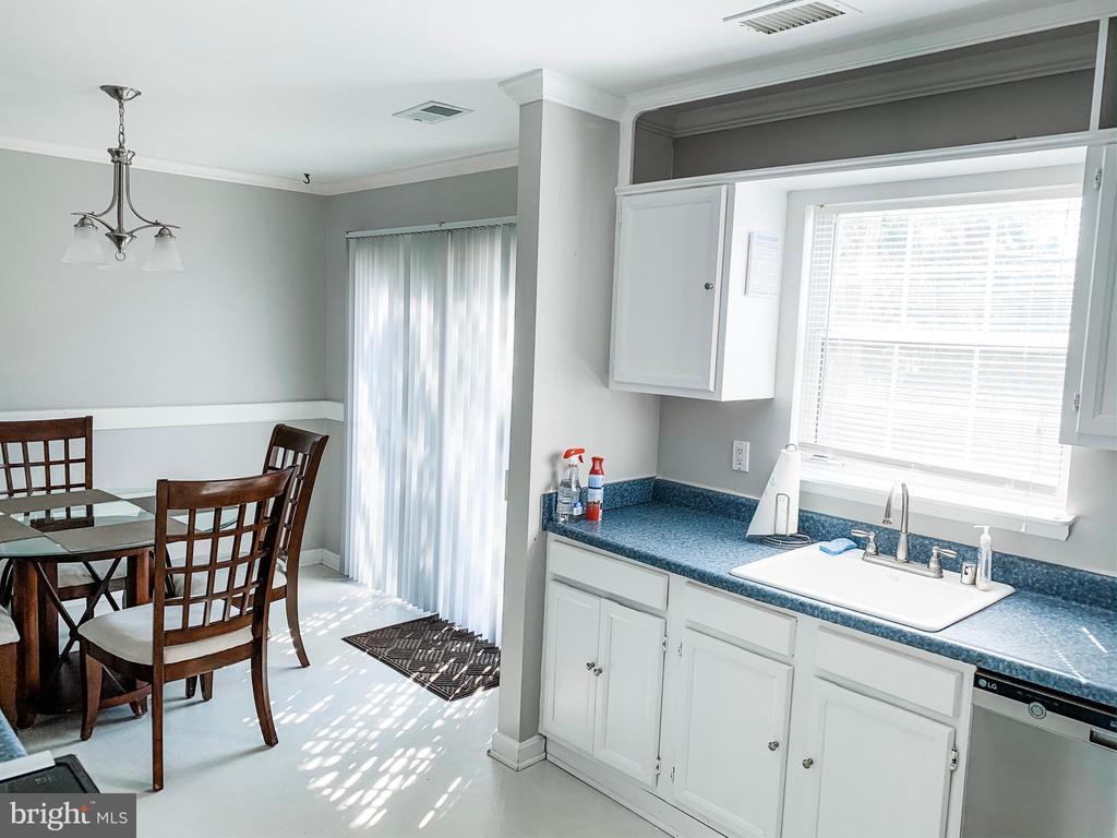 Kitchen/Dining - 8627 ANNA CT, MANASSAS PARK
