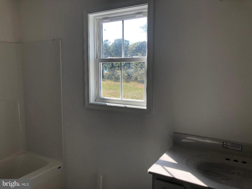 Hall Bath with tub/shower combo - 29366 OLD OFFICE ROAD, RHOADESVILLE
