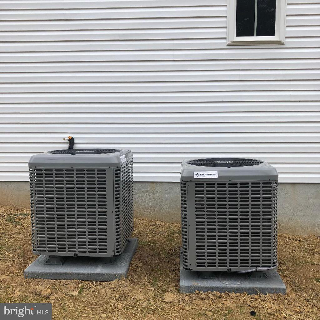 Dual zone HVAC - 29366 OLD OFFICE ROAD, RHOADESVILLE