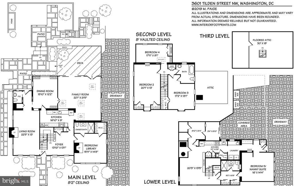 Floor plan - 3601 TILDEN ST NW, WASHINGTON