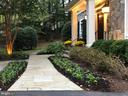 Slate Walkway to Covered Portico - 7357 NICOLE MARIE CT, MCLEAN