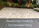 Porous Pavers for Two Extra Guest Parking - 7357 NICOLE MARIE CT, MCLEAN