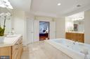 Owner Bathroom - 7357 NICOLE MARIE CT, MCLEAN