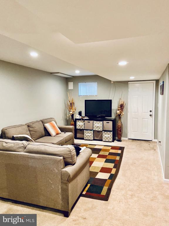 Lower level family room. - 6009 LADD RD, SUITLAND