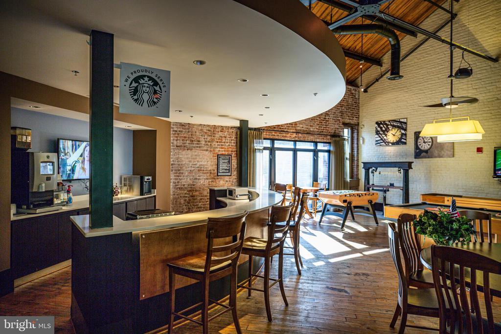Coffee bar in the Community Center - 621-209 COBBLESTONE BLVD #209, FREDERICKSBURG