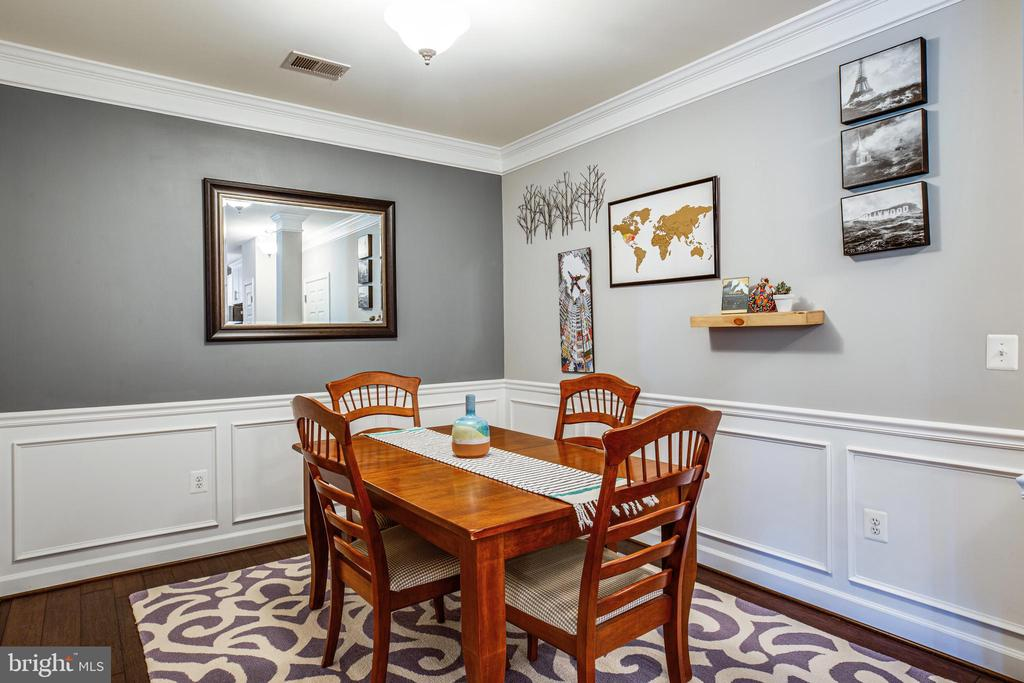 Dining Room - 621-209 COBBLESTONE BLVD #209, FREDERICKSBURG