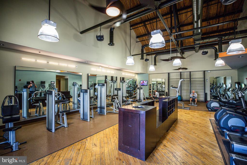 Gym included in your condo fee! - 621-209 COBBLESTONE BLVD #209, FREDERICKSBURG