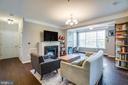 Phenomenal Living area - 621-209 COBBLESTONE BLVD #209, FREDERICKSBURG