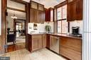 Granite, stainless steel appliances, and skylight - 1410 15TH ST NW, WASHINGTON