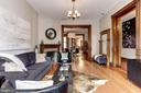 Every room throughout the townhouse is spacious - 1410 15TH ST NW, WASHINGTON