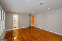 Family room next  to kitchen - 5500 MORRIS AVE, SUITLAND