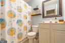 Hall Full Bathroom - 9402 BRAKEN CT, FREDERICKSBURG