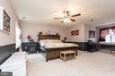 Master Bedroom w/ Sitting Room - 9402 BRAKEN CT, FREDERICKSBURG
