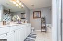 MasterBath-Walk in Closet-Double Vanity-Sep Shower - 9402 BRAKEN CT, FREDERICKSBURG
