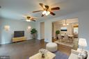 Virtually staged - 6344 PINE VIEW CT #65C, BURKE