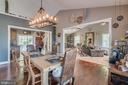Rustic Chandelier with Rope Detailing - 31 LAUREL HAVEN DR, STAFFORD