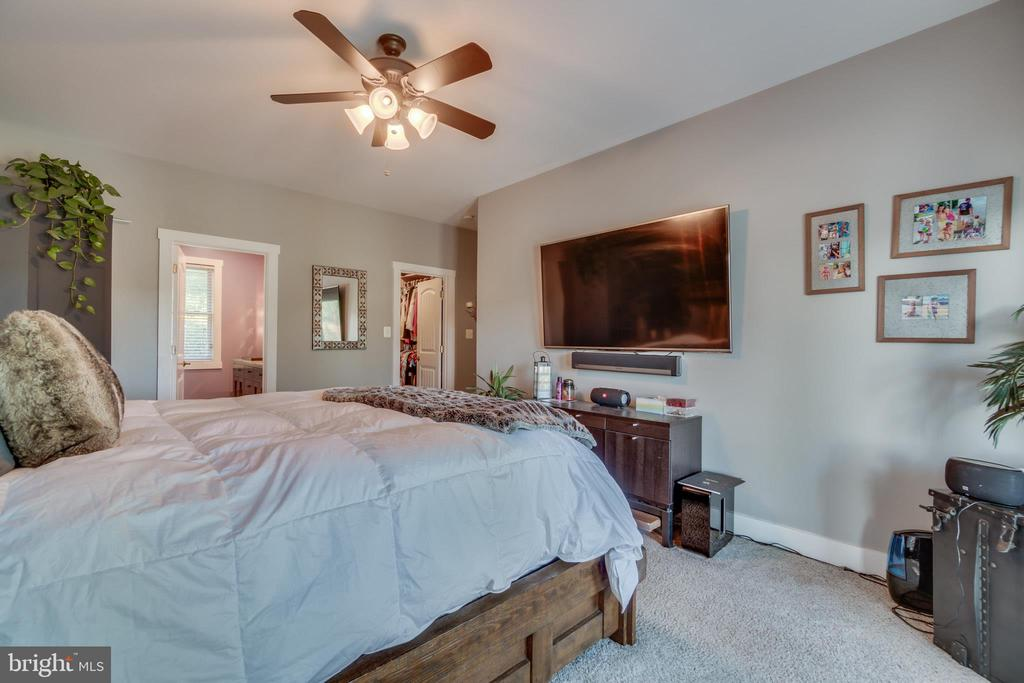 Master Bedroom has walk-in closet with built-ins - 31 LAUREL HAVEN DR, STAFFORD