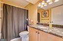 Main Level Full Bathroom with granite top vanity - 31 LAUREL HAVEN DR, STAFFORD