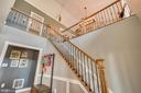 Wrought Iron Stair Pickets - 31 LAUREL HAVEN DR, STAFFORD