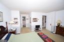 Dressing area and full bath in Master Suite - 11690 STOCKBRIDGE LN, RESTON