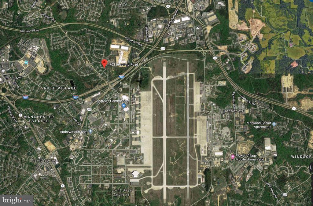 Area Map - 4703 BEAUFORD RD, MORNINGSIDE