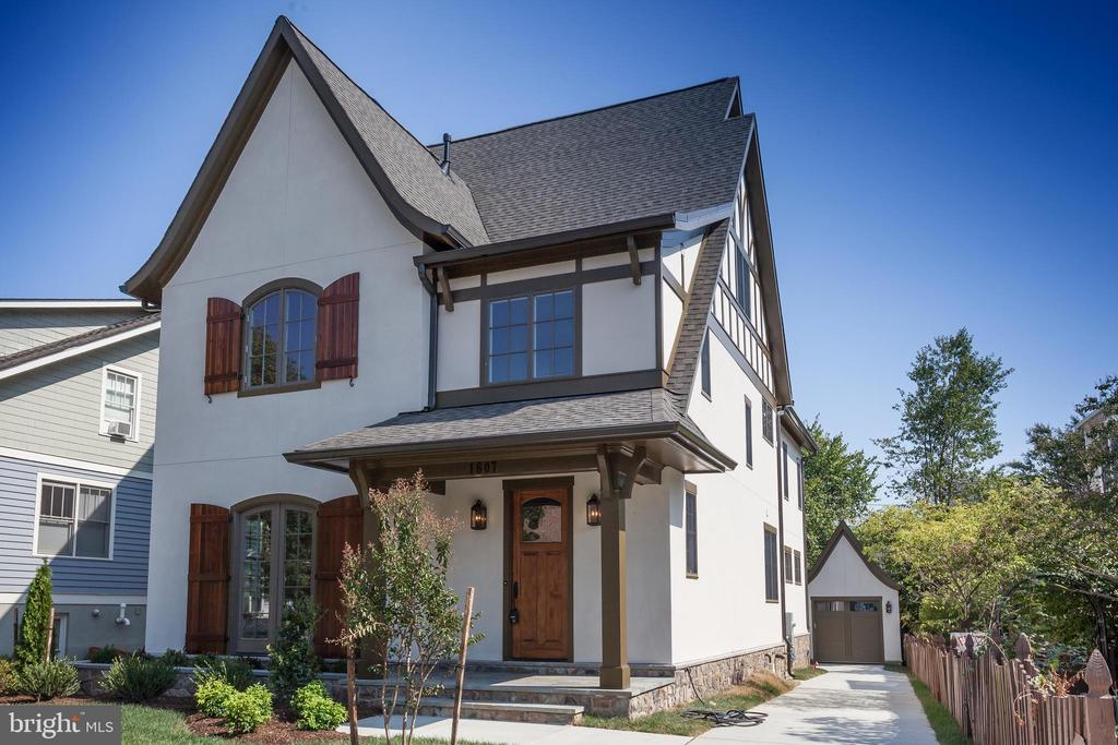 ...in this classic tudor inspired new construction - 1607 N BRYAN ST, ARLINGTON