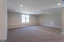 Bonus Level bedroom with full bath - 1607 N BRYAN ST, ARLINGTON