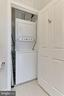 Washes and dryer in the condo - 1205 N GARFIELD ST #308, ARLINGTON