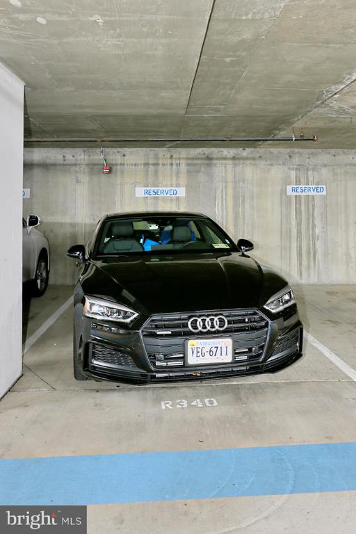 One assigned parking space - 1205 N GARFIELD ST #308, ARLINGTON