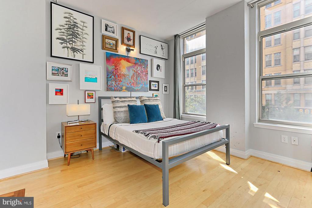 Master bedroom - 1205 N GARFIELD ST #308, ARLINGTON