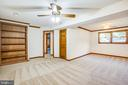Built-ins in Rec Room - 5412 LEAVELLS CROSSING DR, FREDERICKSBURG