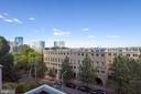 Beautiful view from the balcony - 1401 N OAK ST #307, ARLINGTON