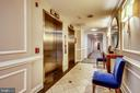 Elevator area - 1401 N OAK ST #307, ARLINGTON