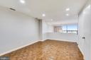 Dining room off kitchen - 1401 N OAK ST #307, ARLINGTON