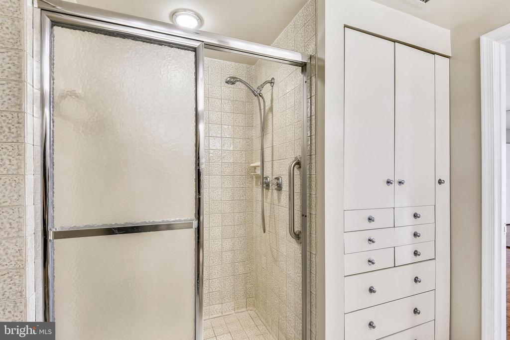 Master bath separate shower - 1401 N OAK ST #307, ARLINGTON