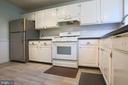 Kitchen - 10637 MONTROSE AVE #3, BETHESDA