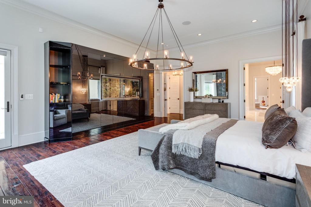 Master Bedroom - 22492 CREIGHTON FARMS DR, LEESBURG