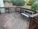 spacious porch - 205 BACKRIDGE CT, FREDERICKSBURG